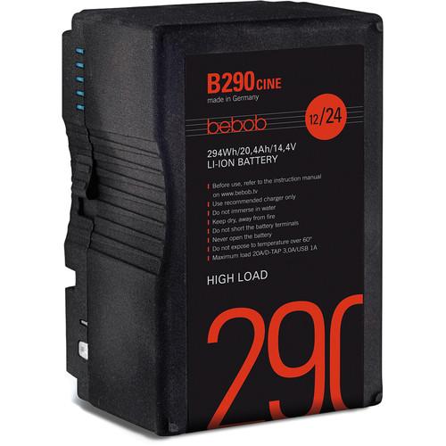 bebob B290CINE 14.4/28.8V 294Wh B-Mount Li-ion Battery