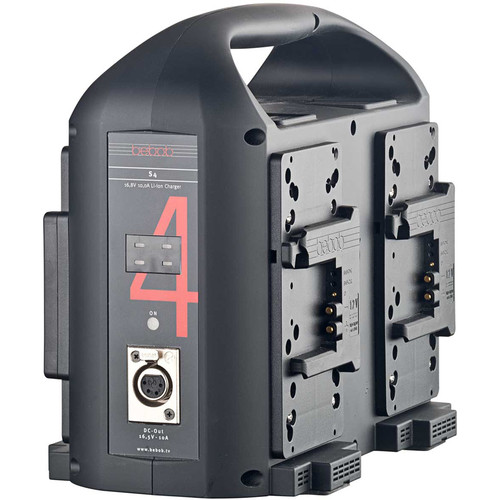 bebob 4-Channel B-Mount Charger With 165W Dc-Out