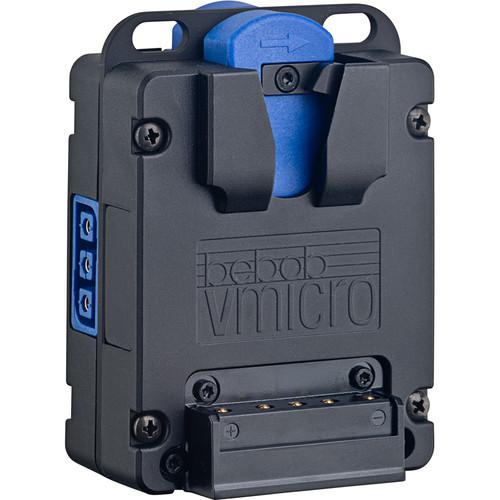 Bebob Factory GmbH Micro Powerbase For 2 V-Mount Batteries