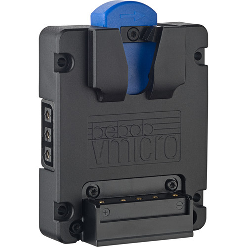 bebob Vmicro Battery Plate with 2 x Twist D-Taps (V-Mount)