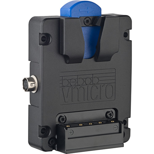 bebob V-micro Battery Plate With Hirose 4Pin And USB