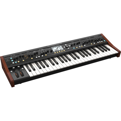 Behringer DeepMind 12 - True Analog 12-Voice Polyphonic Synthesizer with Tablet Remote and Wi-Fi