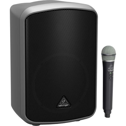 "Behringer Europort MPA200BT 8"" 200W Portable Bluetooth Speaker with Wireless Handheld Mic"