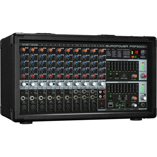 Behringer PMP2000D - 2000W 14-Channel Powered Mixer with KLARK TEKNIK FX