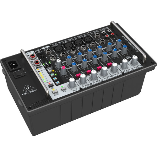 Behringer Europower PMP500MP3 500W 8-Channel Powered Mixer