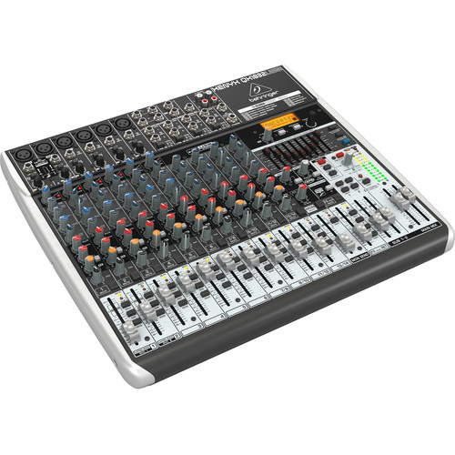 Behringer XENYX QX1832USB 18-Input USB Audio Mixer with Effects