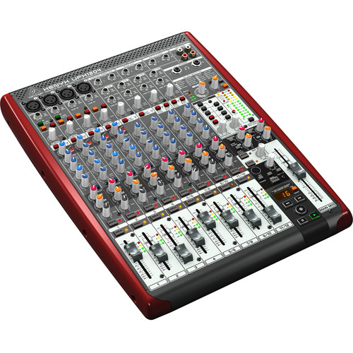 Behringer XENYX UFX1204 Premium 12-Input 4-Bus Mixer