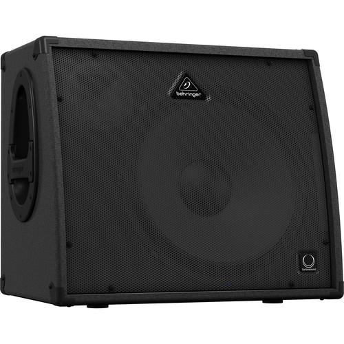 """Behringer ULTRATONE KXD15 600-Watt 4-Channel PA System & Keyboard Amp with 15"""" Speaker"""