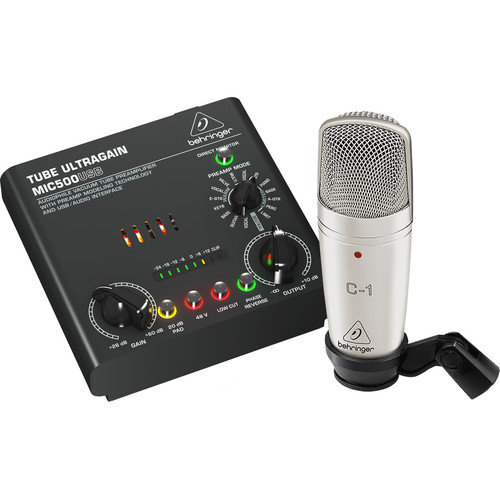 Behringer Voice Studio Complete Recording Bundle