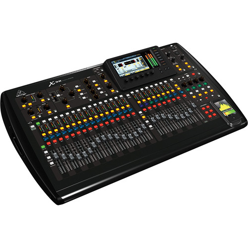 Behringer X32 40-Channel, 25-Bus Digital Mixing Console with S16 Digital Snake & 50' Cat5e Cable Kit