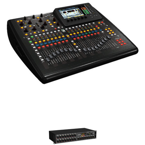 Behringer X32 Compact Digital Mixing Console Kit with 16-Channel Stage Box