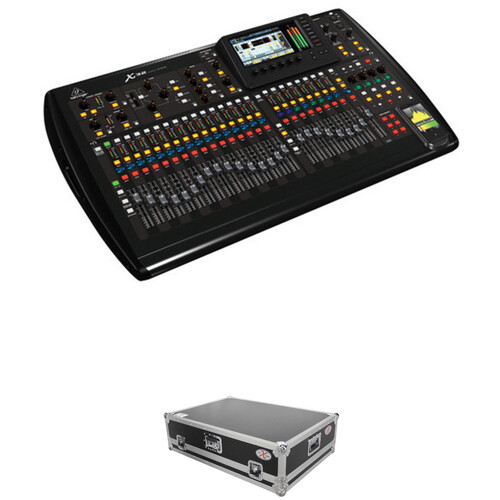 Behringer X32 Digital Mixing Console Kit with Molded Mixer Case