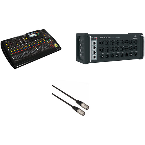 Behringer X32 Console and SD16 Stage Box Kit