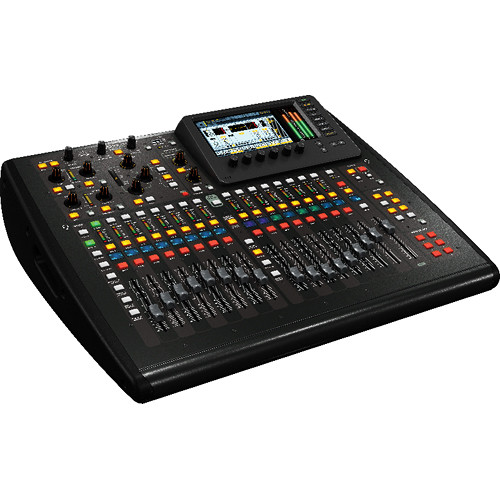 Behringer X32 Compact 40-Input, 25-Bus Digital Mixing Console with 16 Microphone Preamps