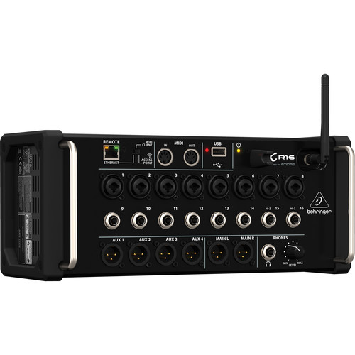 behringer x air xr16 16 input digital mixer for ipad android. Black Bedroom Furniture Sets. Home Design Ideas