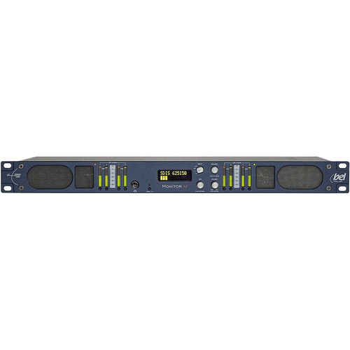Bel Digital BM-A1-16OB Compact 16-Channel Audio Monitoring Unit with SDI De-Embedding