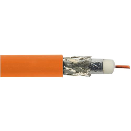 Belden 1695A RG6 Plenum SDI/HDTV Coaxial (1000', Orange)