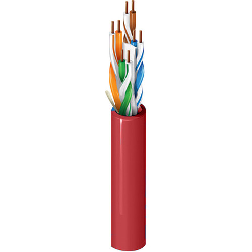 Belden 2412 Multi-Conductor - Enhanced Cat 6 Nonbonded-Pair Cable (1000' , Red)