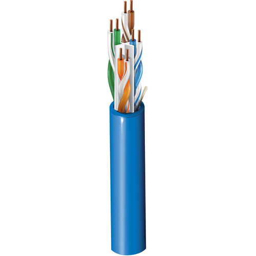 Belden 3612 Multi-Conductor - Enhanced CAT6 Nonbonded-Pair Cable (1000', Blue, Spool)