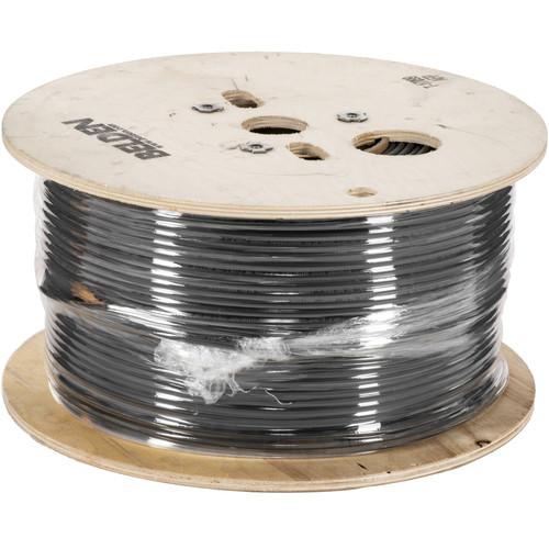Belden 5100UP 0101000 14-Gauge Twisted-Pair High-Strand Speaker Cable (1000', Black)