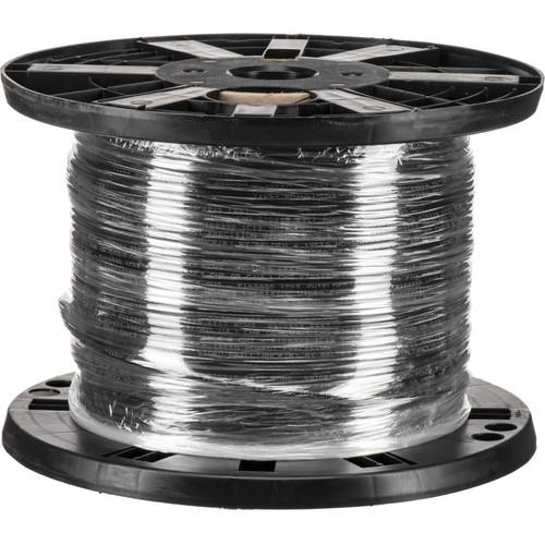 Belden 5100UP 010500 14-Gauge Twisted-Pair High-Strand Speaker Cable (500', Black)