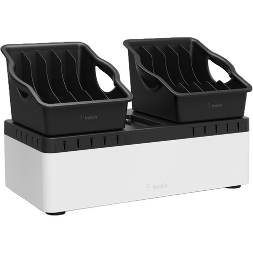 Belkin Store and Charge Go with Portable Trays & RockStar 10-Port USB Charger