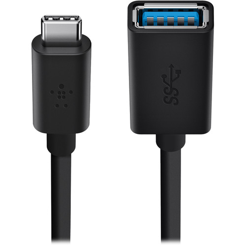 Belkin USB 3.0 USB Type-A Female to Type-C Male Adapter