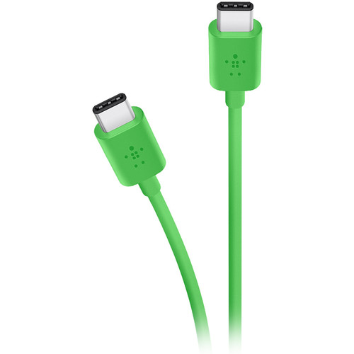 Belkin MIXIT USB 2.0 Type-C Charge & Sync Cable (6', Green)