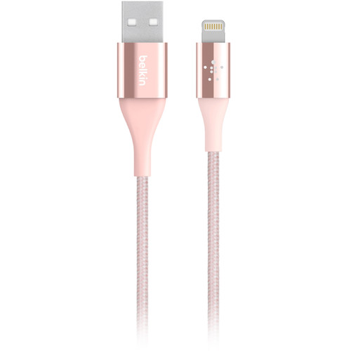 Belkin Mixit DuraTek Micro-USB to USB Type-A Charging Cable (4', Rose Gold)