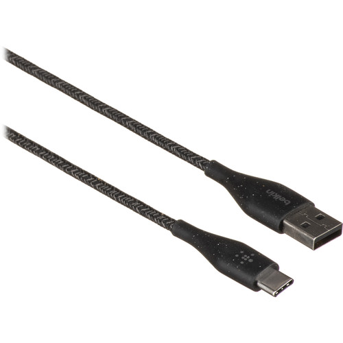 Belkin DuraTek Plus USB 2.0 Type-C to USB Type-A Cable (Black)