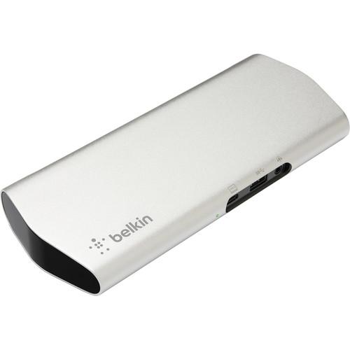 Belkin 9-Port USB Type-C Express Dock 3.0 HD Multi-Adapter Hub