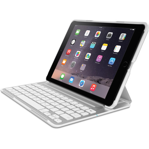 Belkin QODE Ultimate Pro Keyboard Case for iPad Air 2 (White)