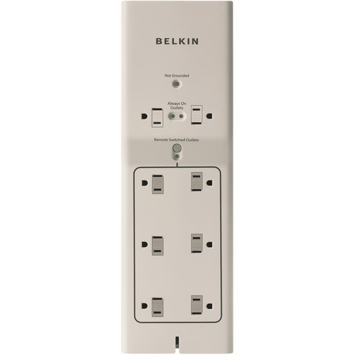 Belkin Conserve Switch 8-Port Surge Protector with Remote