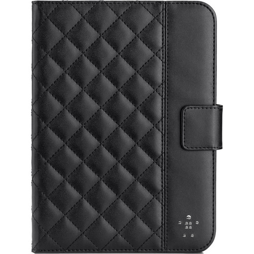 Belkin Quilted Cover with Stand for iPad mini 1/2/3 (Black)