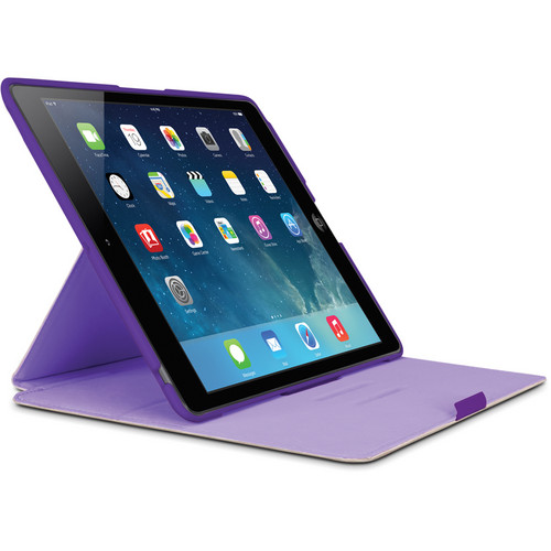 Belkin FormFit Cover for iPad Air (Purple)