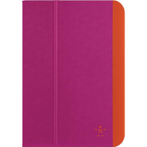 Belkin Slim Style Cover for iPad mini 3, iPad mini 2, and iPad mini (Azalea/Fiesta)