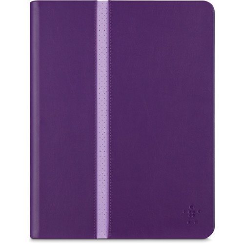 Belkin Stripe Cover for iPad Air 2 and iPad Air (Plum)