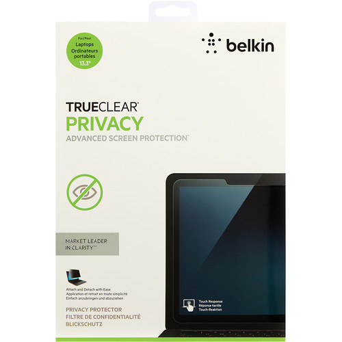 "Belkin TrueClear Privacy Screen Protector for 13.3"" Laptop Screens"