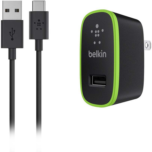 Belkin USB Type-C to USB Type-A Cable with Universal Home Charger