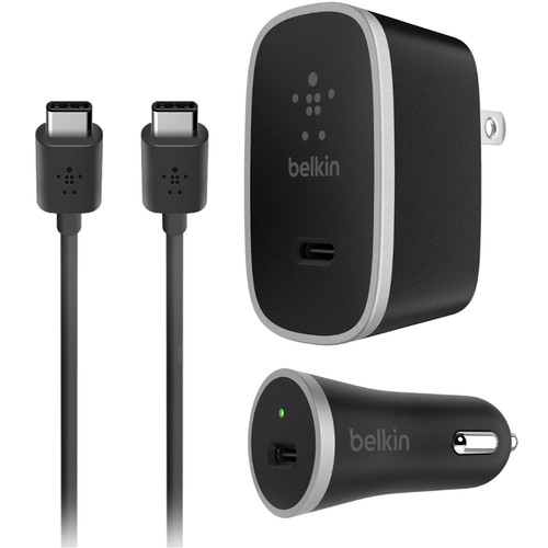 Belkin 15W Charger Kit with USB Type-C Cable