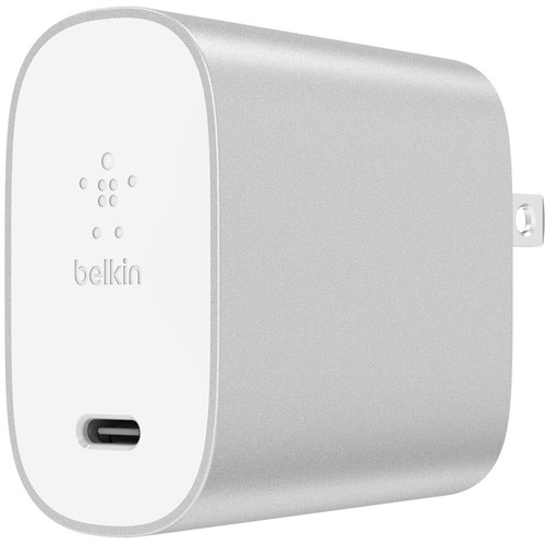 Belkin BOOST UP CHARGE 27W USB Type-C Wall Charger (Silver)