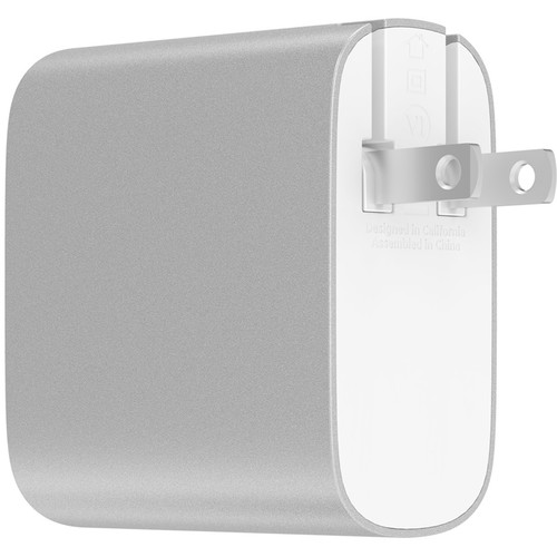 Belkin BOOST UP CHARGE 39W USB Type-C & USB Type-A Wall Charger (Silver)