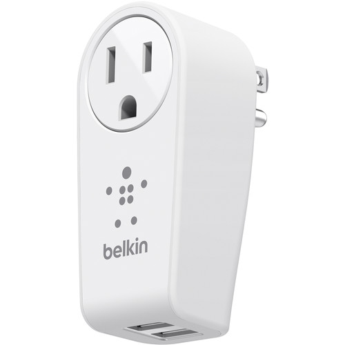 Belkin BOOST UP 2-Port Swivel Charger with Outlet