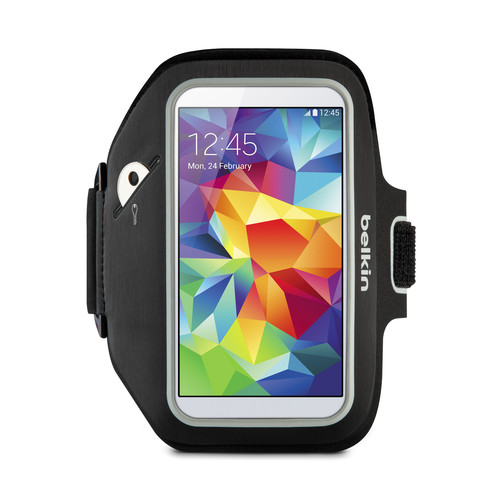 Belkin Sport-Fit Plus Armband for Galaxy S3/S4/S4 Active/S5 (Black)