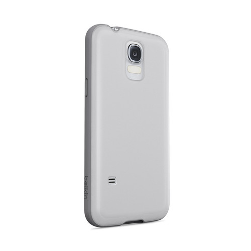 Belkin AIR PROTECT Grip Candy SE Case for Galaxy S5 (Clear/Gravel)