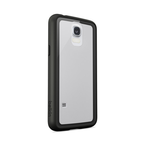 Belkin AIR PROTECT Grip Vue Case for Galaxy S5 (Clear/Black)