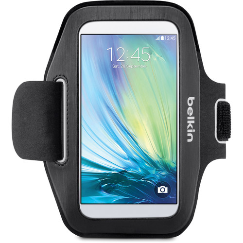 Belkin Sport-Fit Armband for Galaxy S6/S6 Edge (Black/White)
