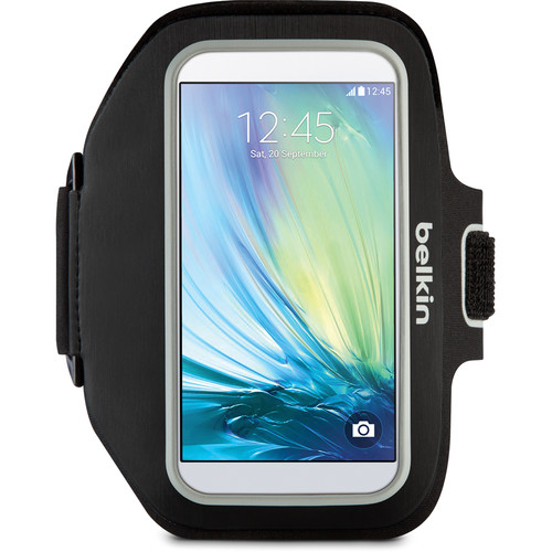Belkin Sport-Fit Plus Armband for Galaxy S6/S6 Edge (Black/White)