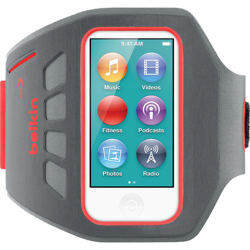 Belkin Ease-Fit Plus Armband for iPod nano 7th Generation (Ruby Red)
