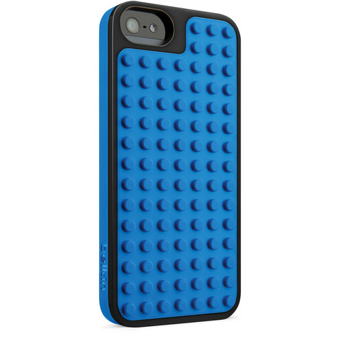 Belkin LEGO Builder Case for iPhone 5/5s (Piano Black and Blue)